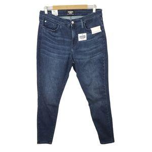 Levi's Denizen Dark-wash Skinny Jeans/Jeggings 18